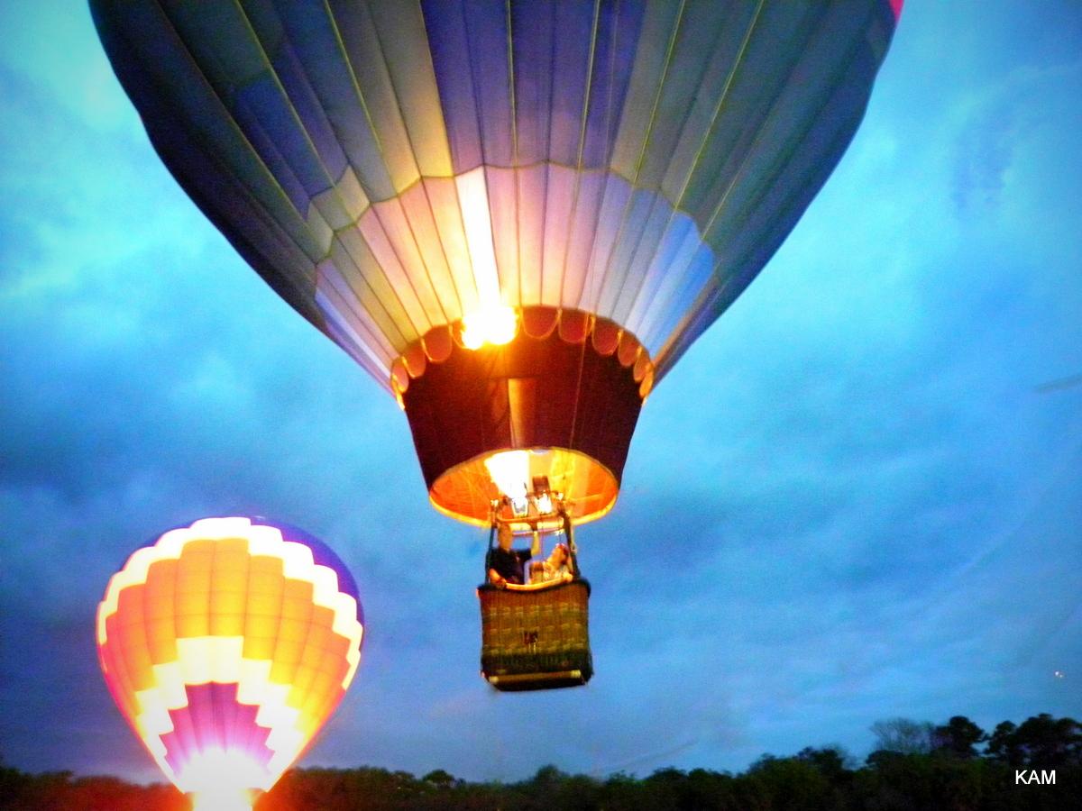 hot air balloon ride, new smyrna beach