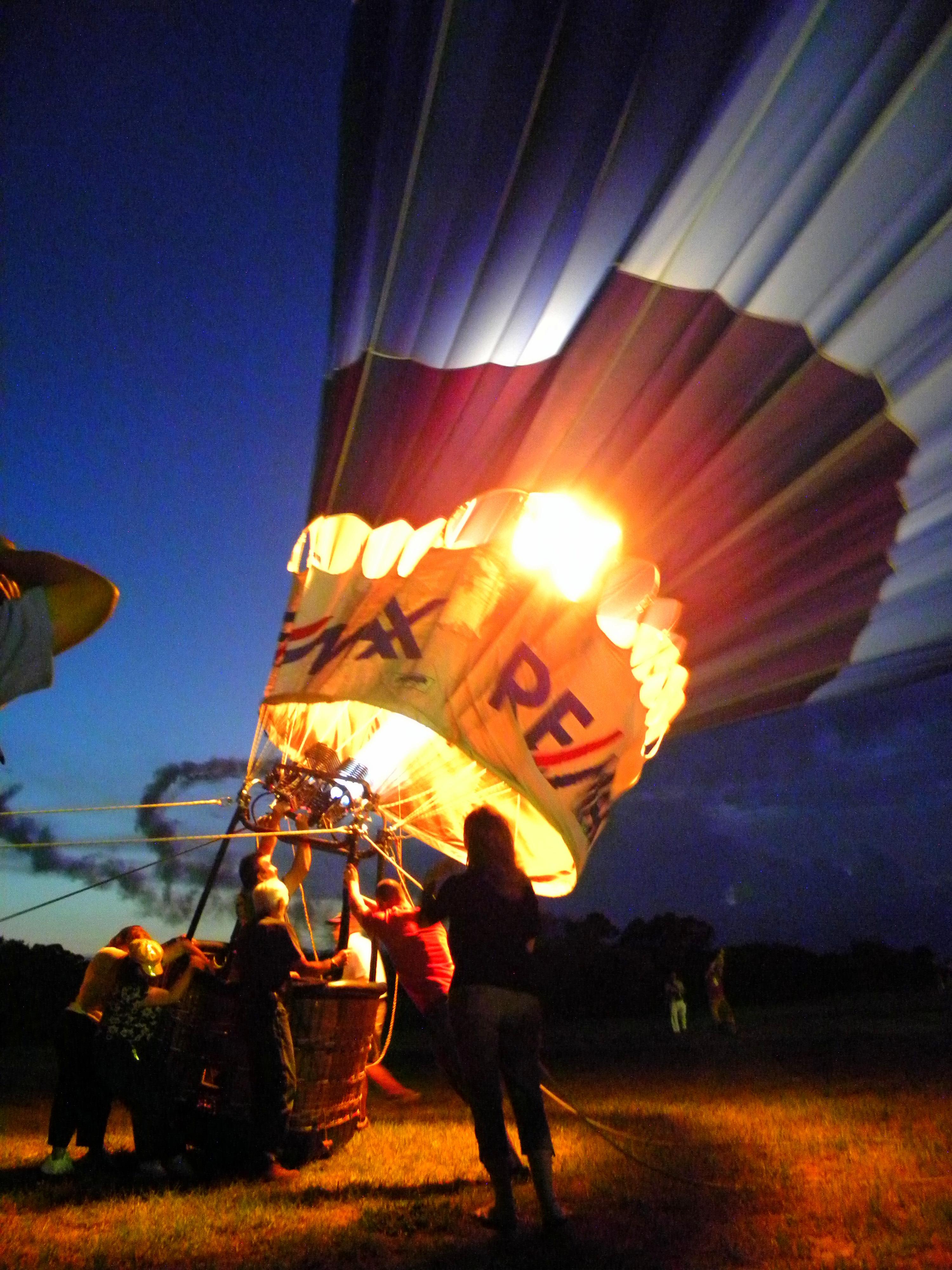 hot air balloon fesitval