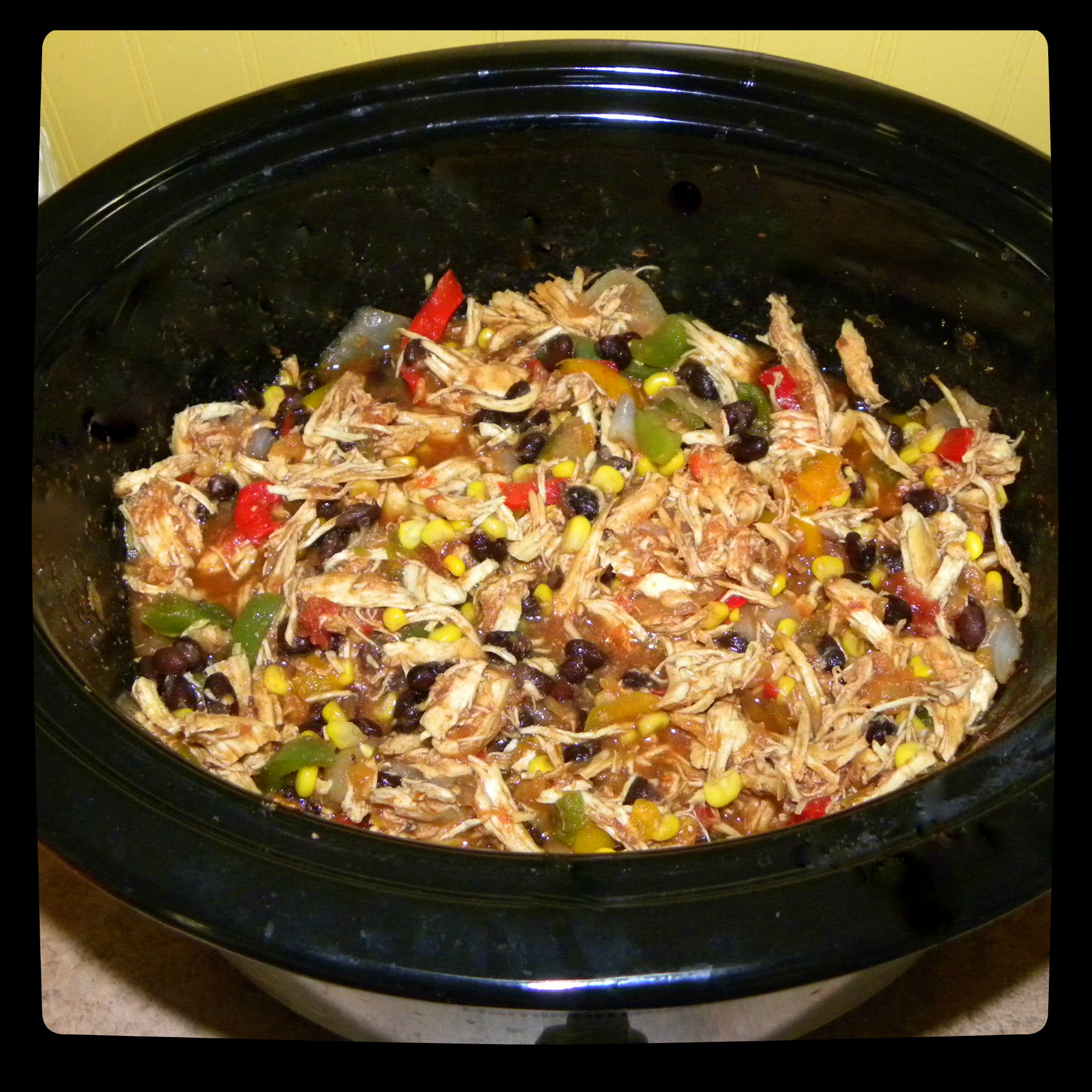 A true dump and cook crockpot recipe that results in the most flavorful, juicy Mexican pulled chicken. Shawn and I are extremely even tempered. In the 12 years we have been together (yes, 12 years, we started dating at 15 and 16!), we have never had a yelling fight.5/5(1).