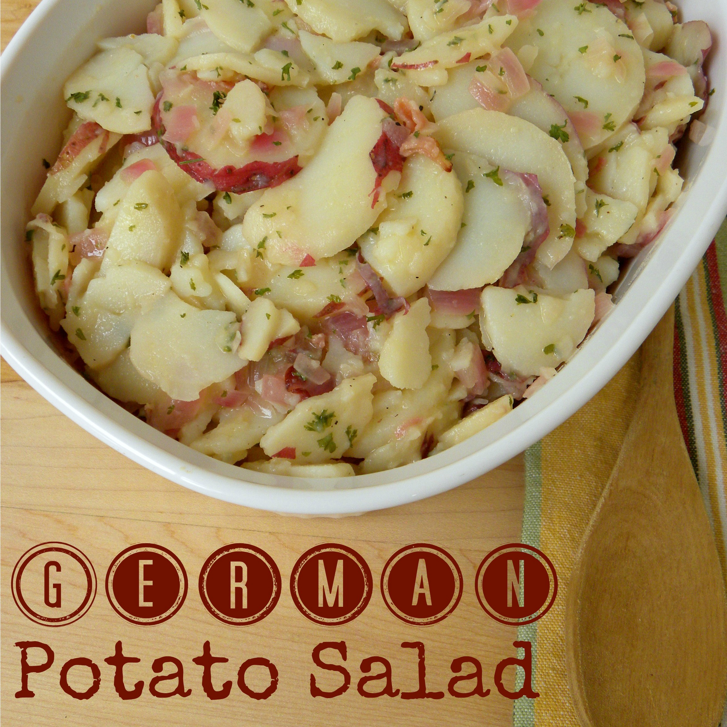 German potato salad recipe, kartoffelsalat, my berlin kitchen, luisa ...