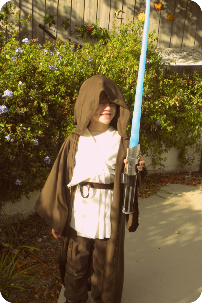 DIY Star Wars Jedi Costume