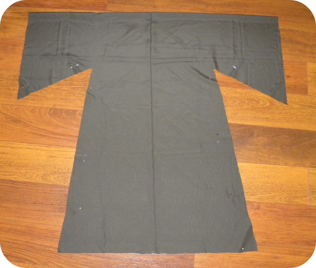 jedi robe tutorial, star wars costume, homemade jedi costume 2