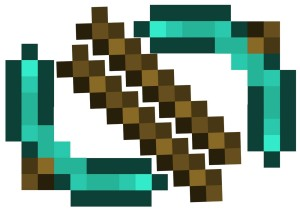 Minecraft-pickaxe-template
