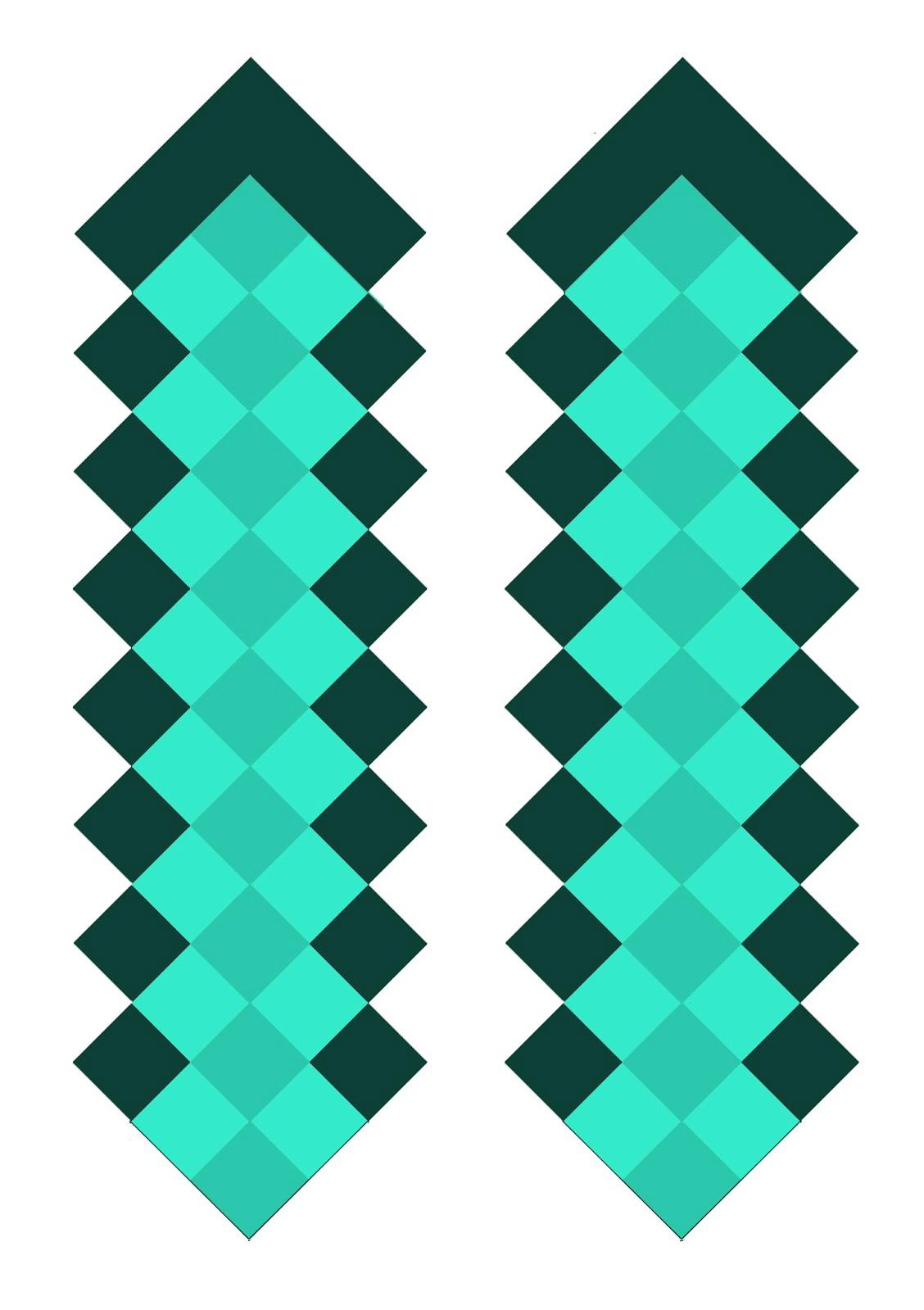 diamond sword template 1 pdf pdf minecraft diamond sword 2