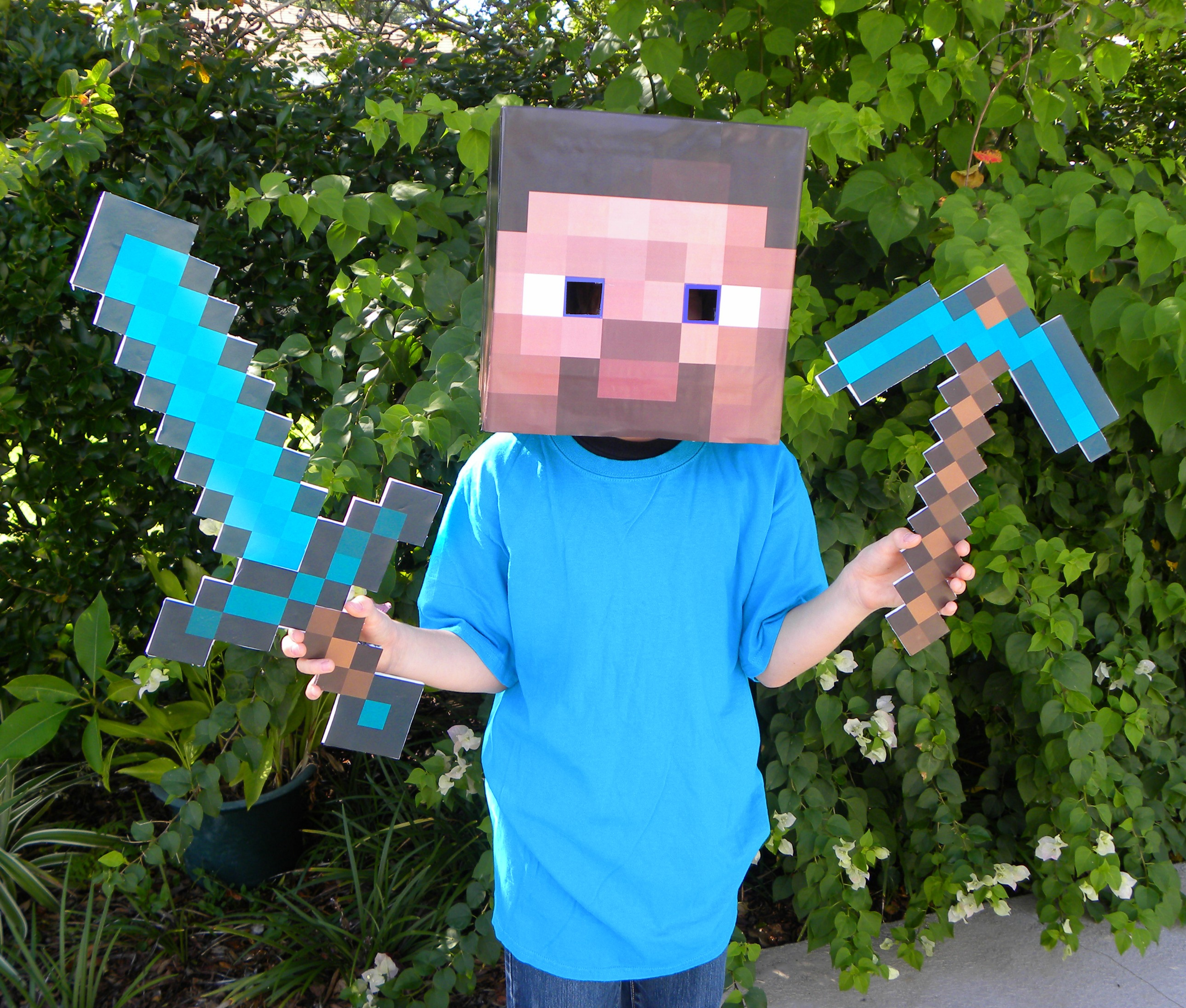 Minecraft Party Diamond Sword