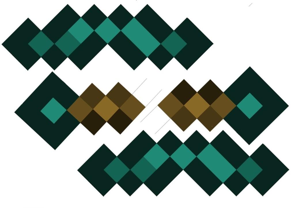 Minecraft Diamond Sword Template Minecraft Diamond Sword