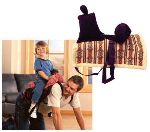 Daddle - The Dad Saddle