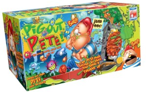 Pig Out Pete game, puke game