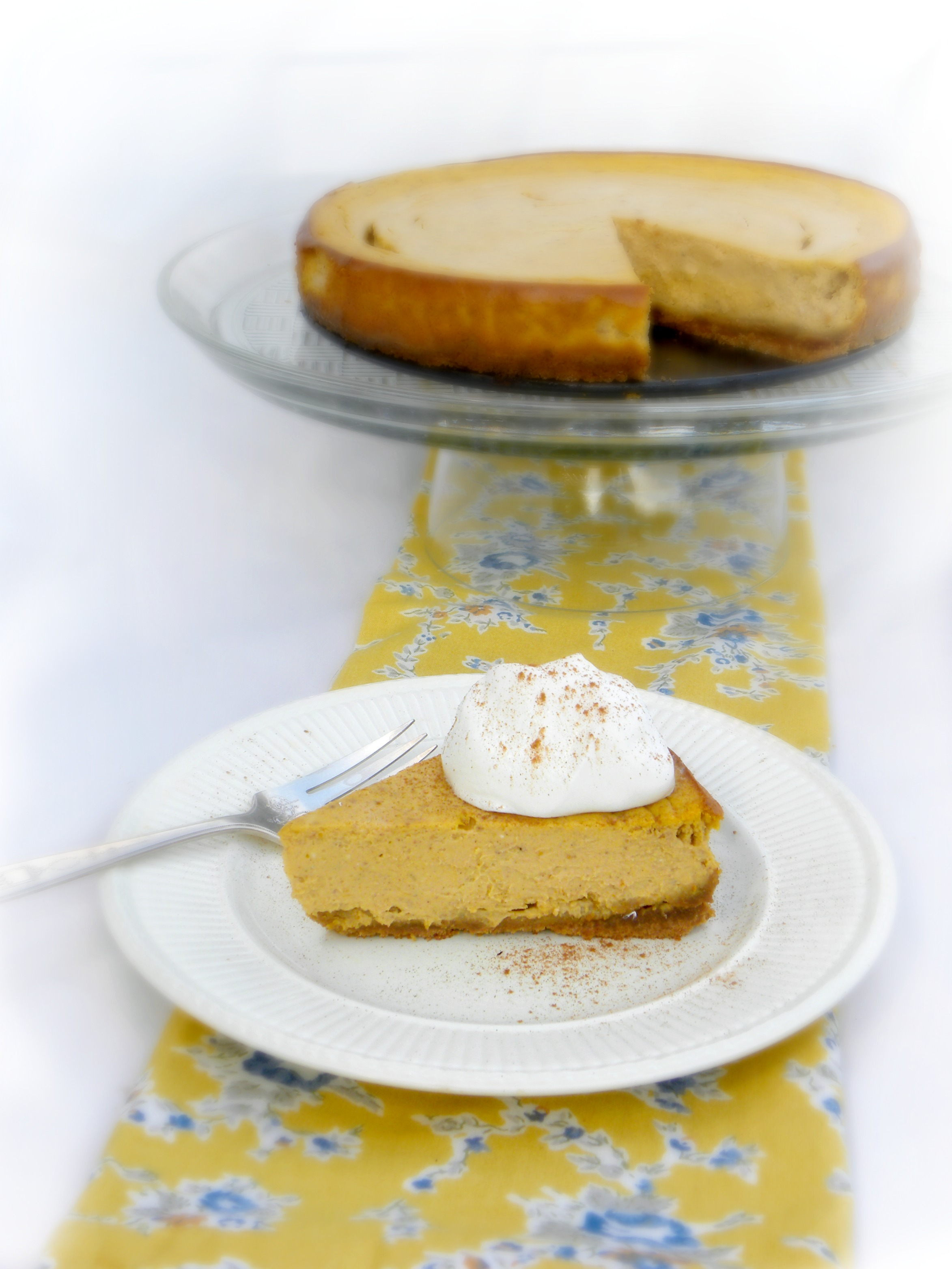 Pumpkin Gingersnap Cheesecake - delish!
