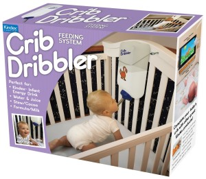 crib dribbler prank gift