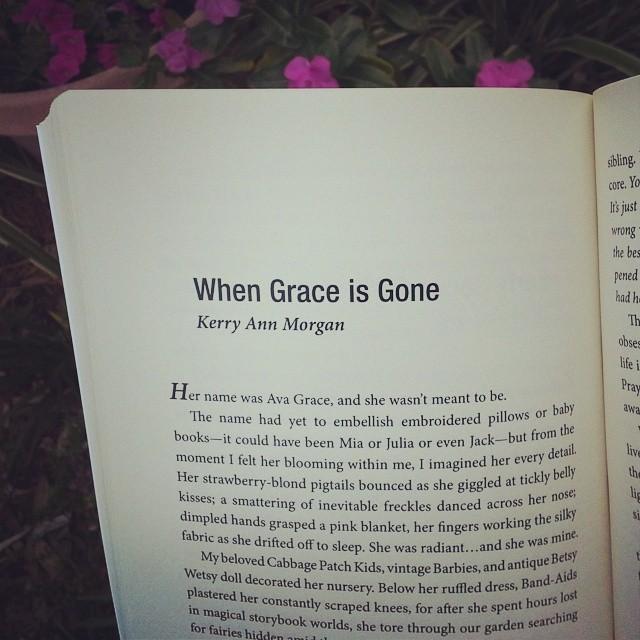 grace is gone snap