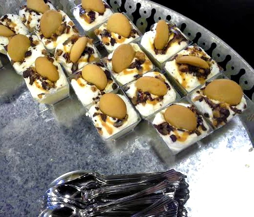 Banana Dream Pudding Cups (from the Southern Cowboy Cookbook). Perfect for a potluck! Adding roasted bananas makes all the difference!