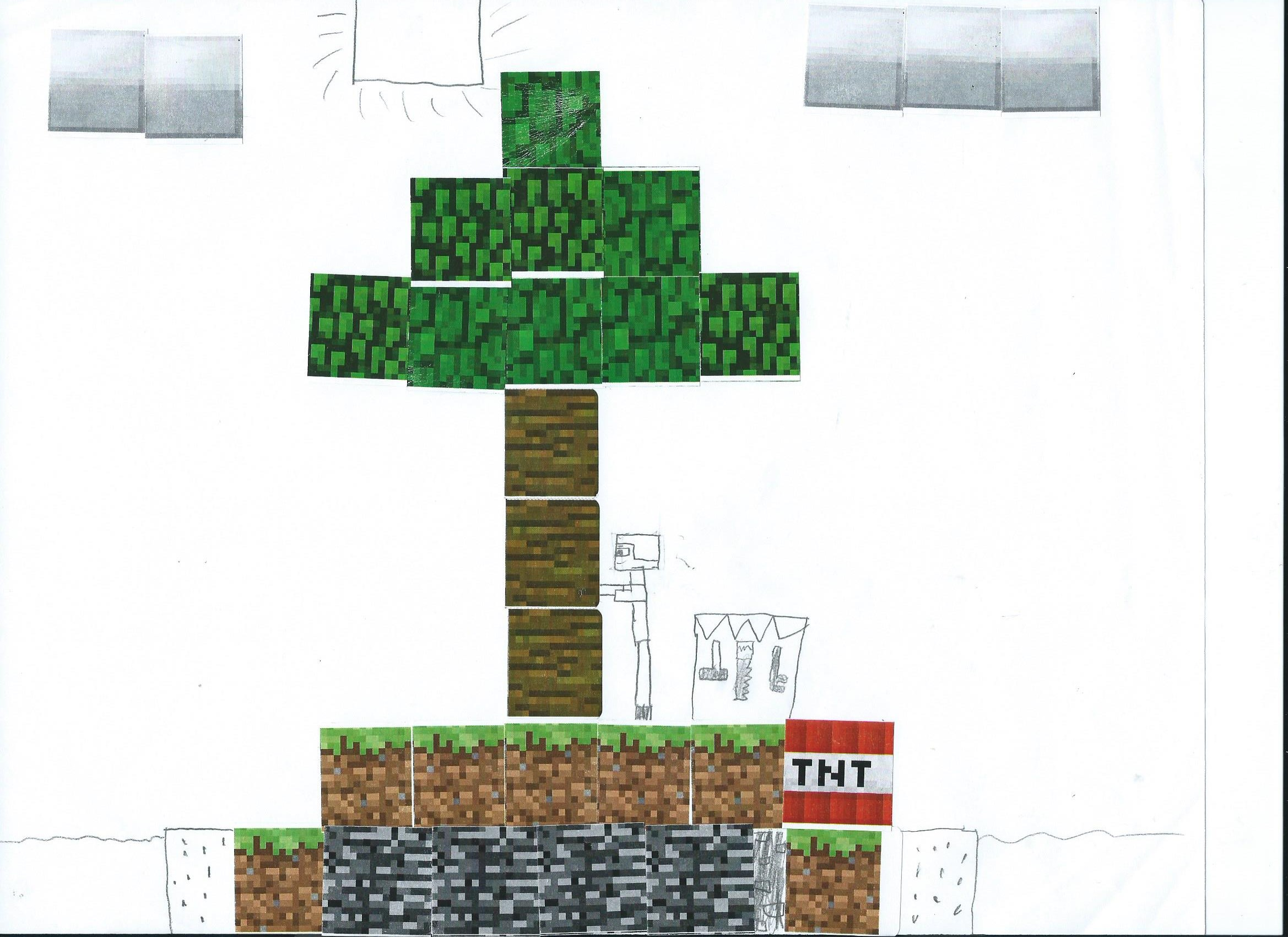 photo relating to Printable Minecraft Blocks known as MINECRAFT Insanity: Crafts for functions, clrooms, or