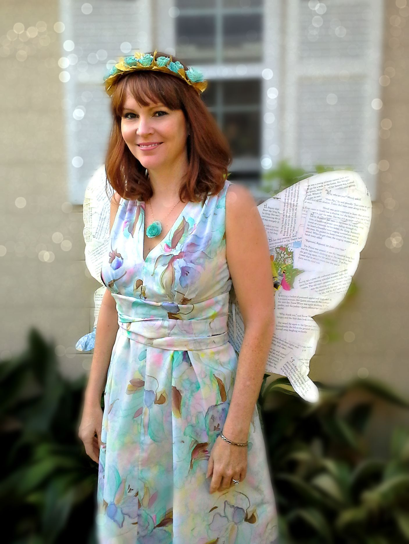 How to make a Book Fairy Costume--this is adorable! Perfect Halloween costume  sc 1 st  KerryAnnMorgan.com & How to Make a Book Fairy Costume | KerryAnnMorgan.com
