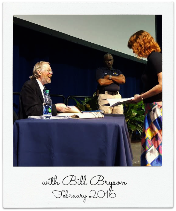 Bill Bryson Rollins College book signing